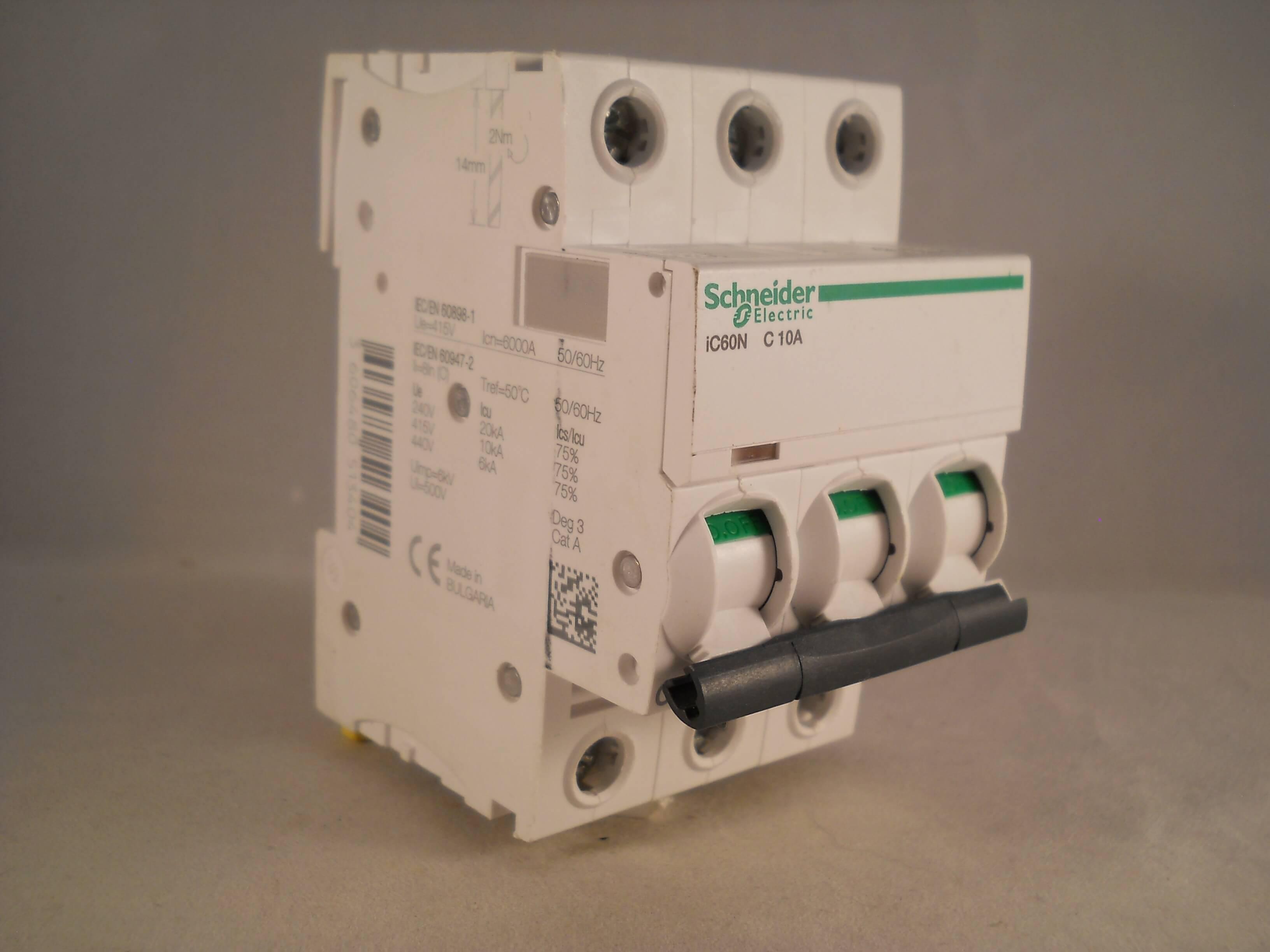 Mcb Schneider 10a Domae Electric Daftar Harga Terkini Dan Rcbo Slim 1p N