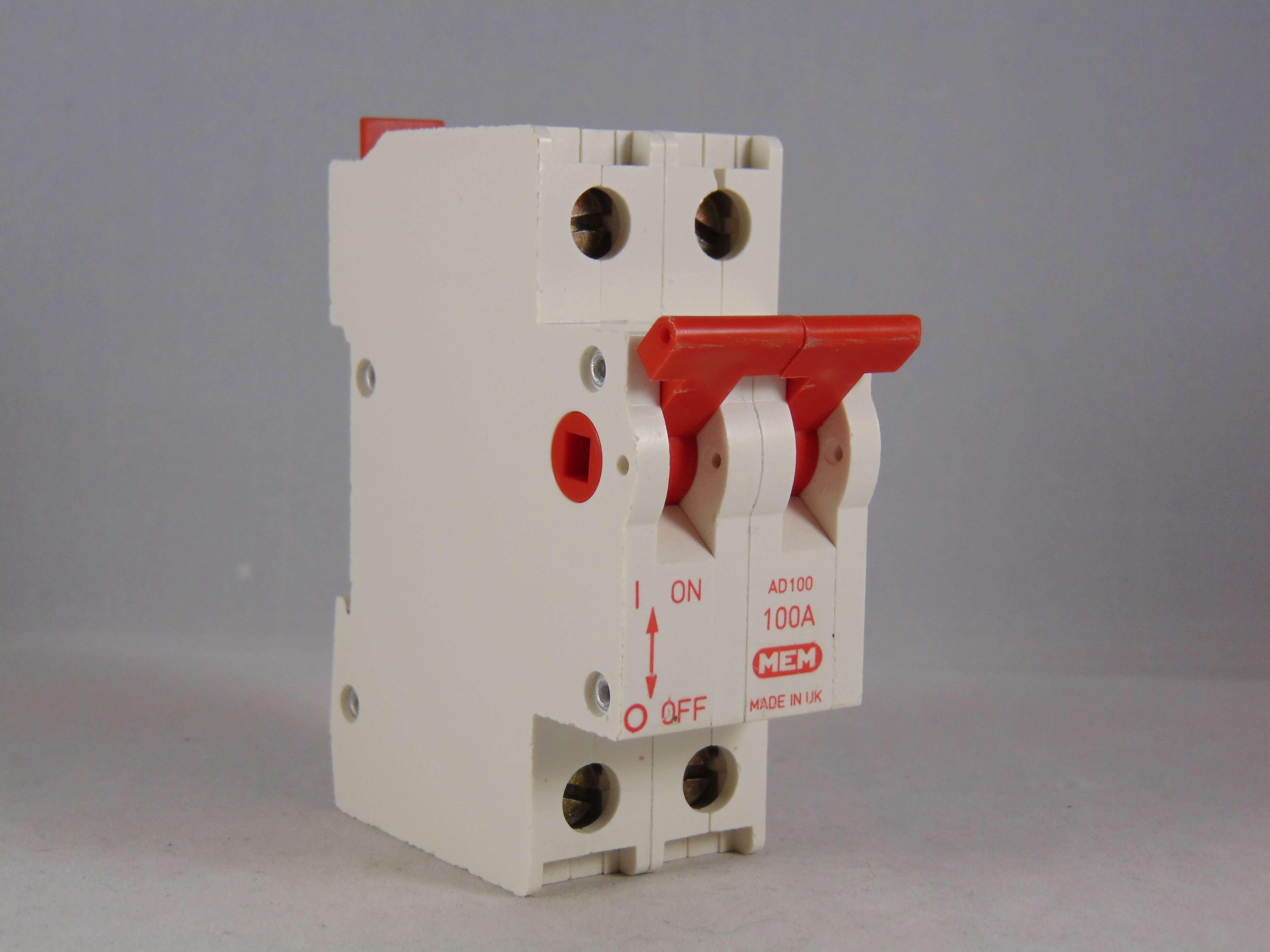 MEM 100 Amp Main Switch