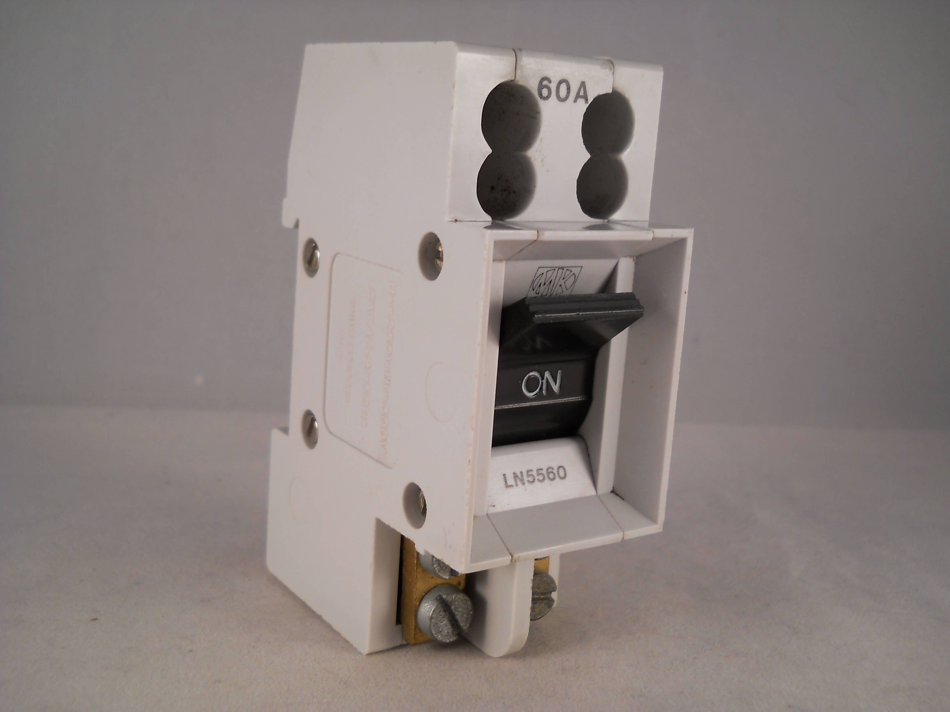 MK 60 Amp Main Switch Disconnector 60A Double Pole Isolator Sentry ...