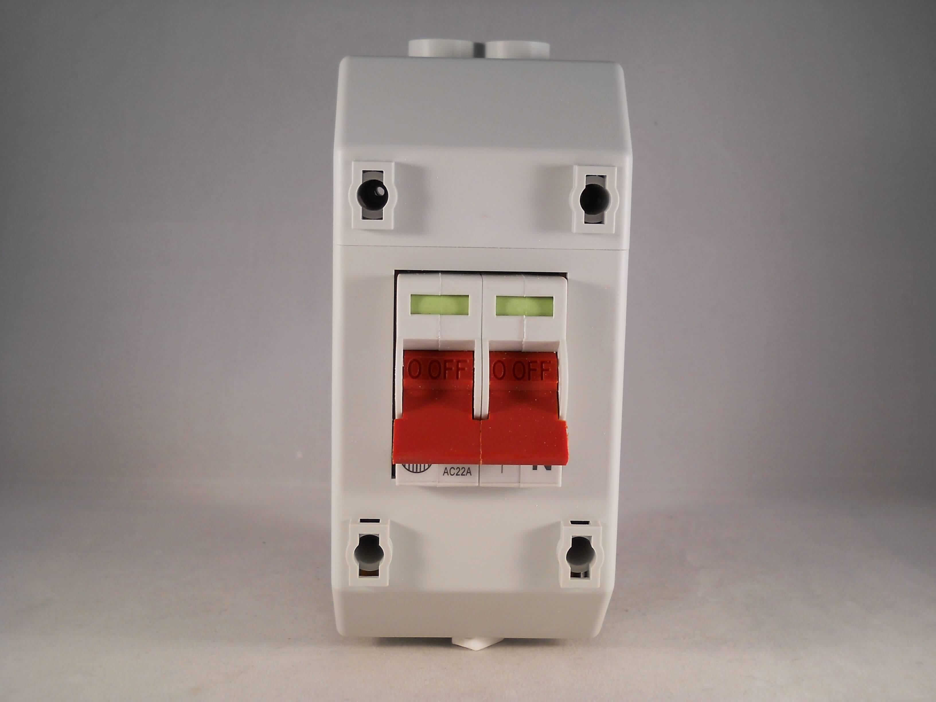 Wylex Isolator 100 Amp 2 Pole 100a Main Switch With