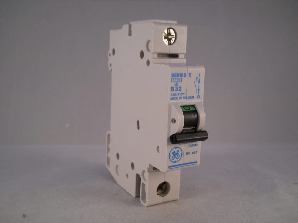 Ge Series E Mcb 32 Amp Type B 32a Single Pole Breaker V