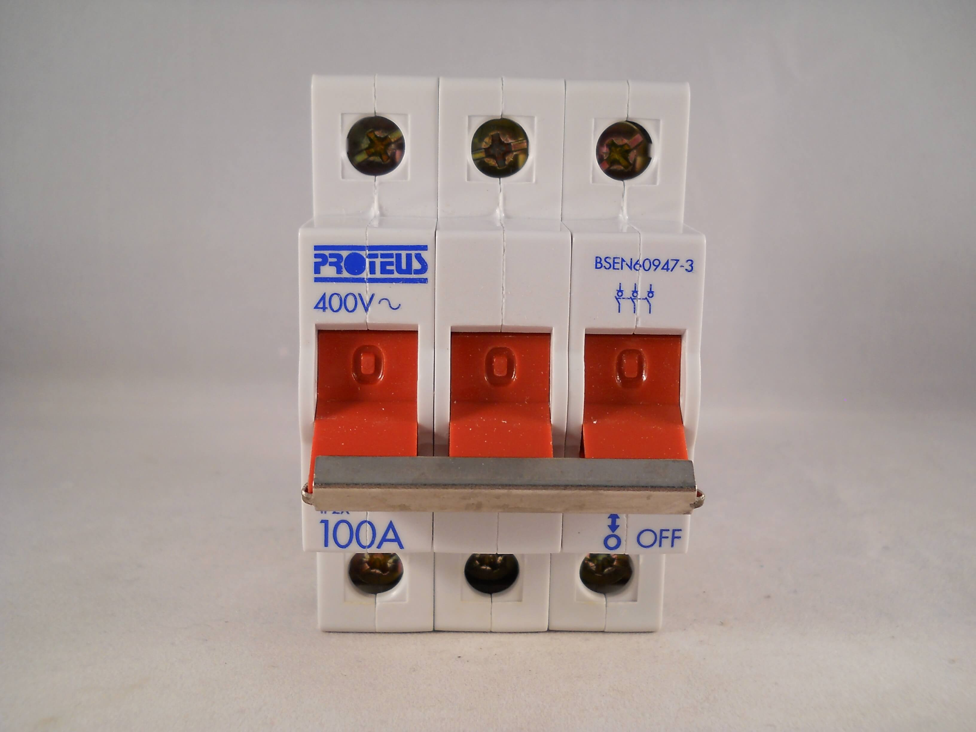 Proteus 32mbrspw Circuit Breaker Ebay