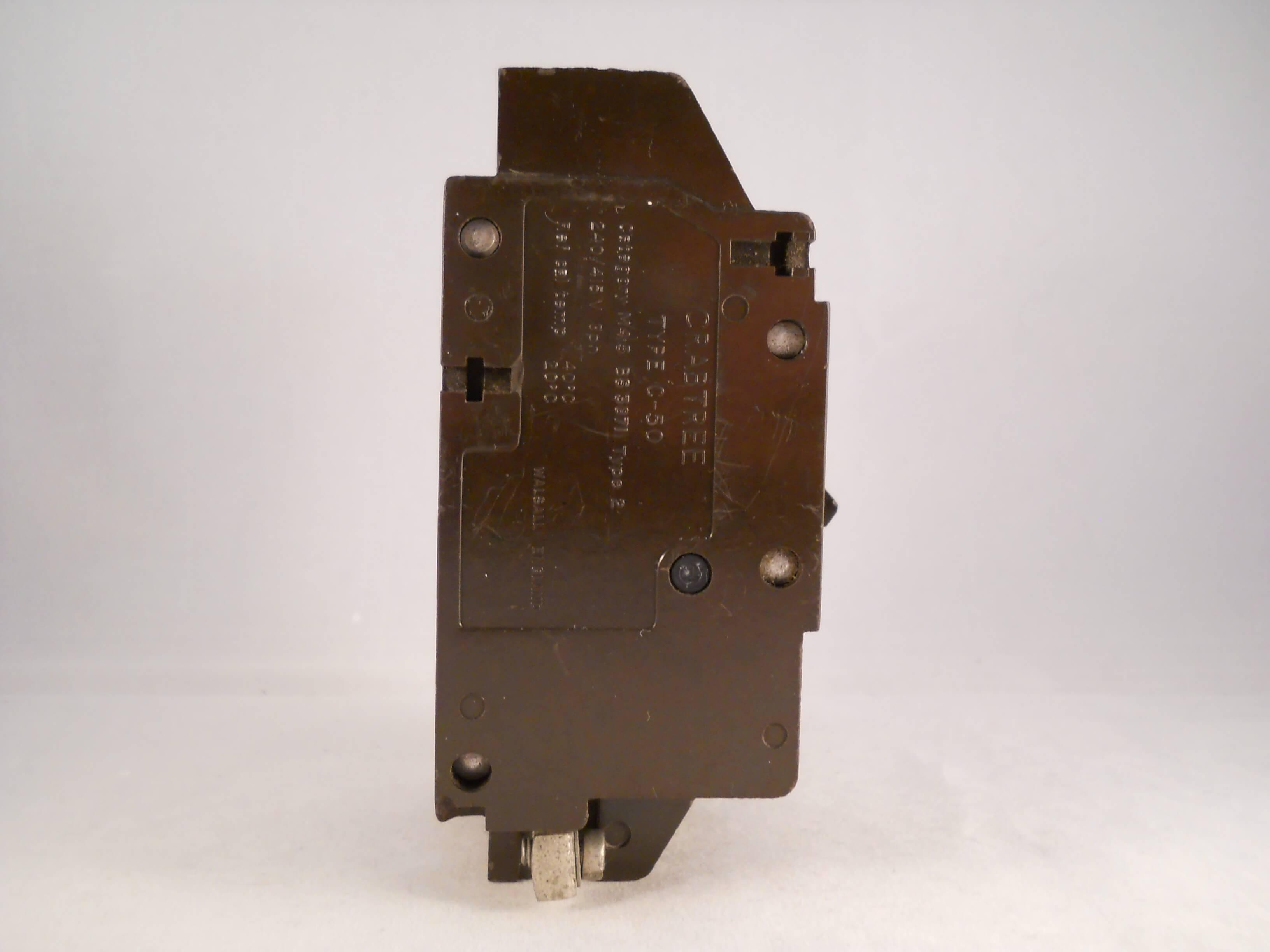 Crabtree C50 Mcb 60 Amp Type C 60a Triple Pole 3 Phase