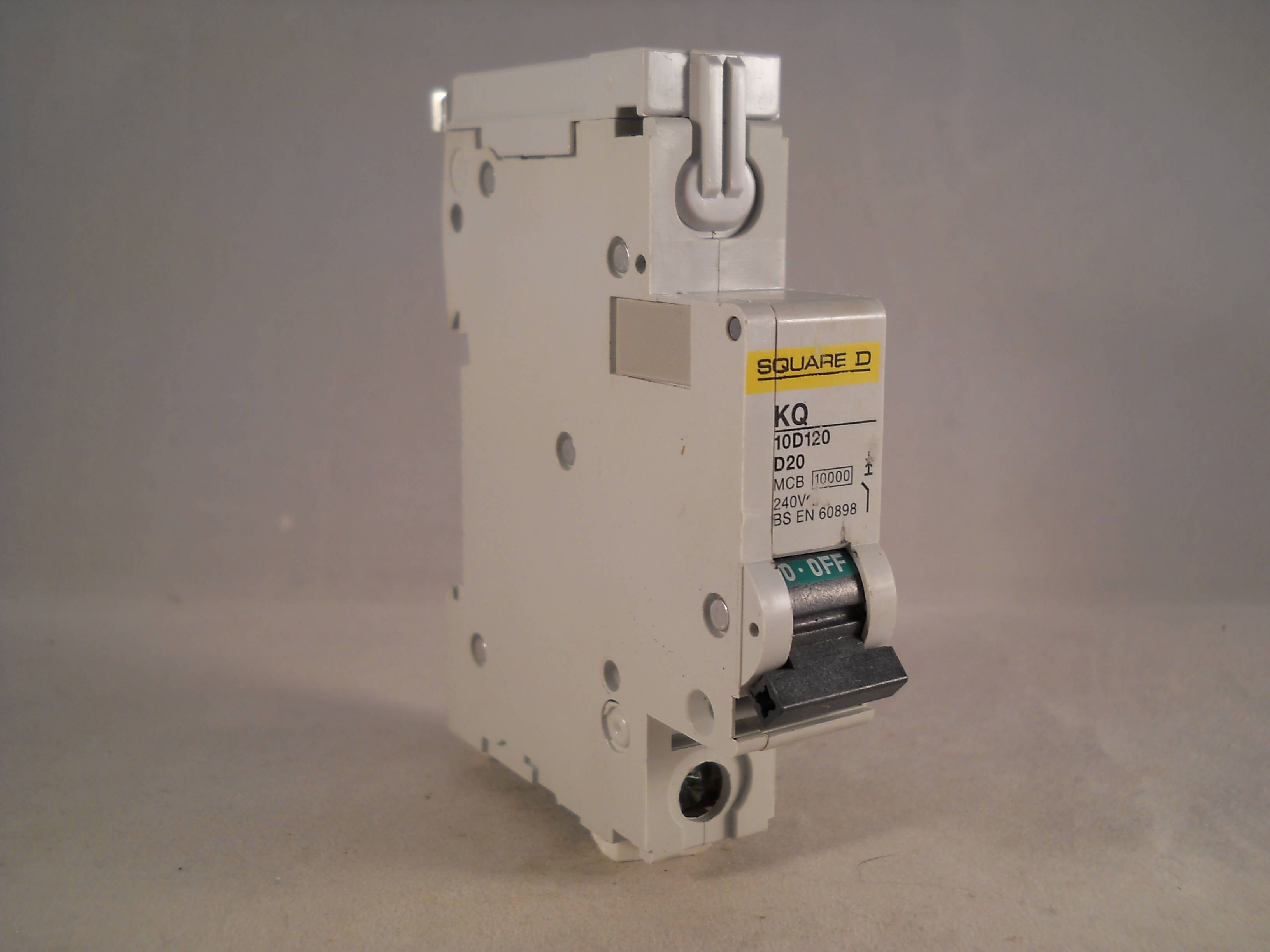 Square D Kq Mcb 20 Amp Type D Single Pole 20a Circuit
