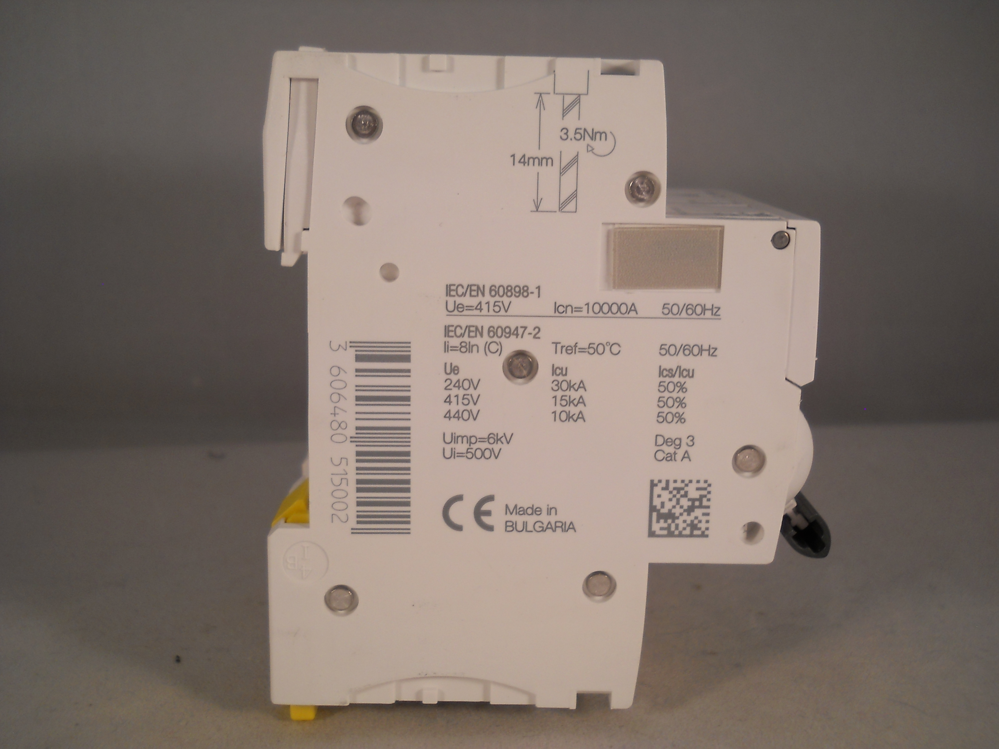 SCHNEIDER ACTI9 iC60H 32 AMP TYPE C 32A TRIPLE POLE 3 PHASE MCB BREAKER A9F54332