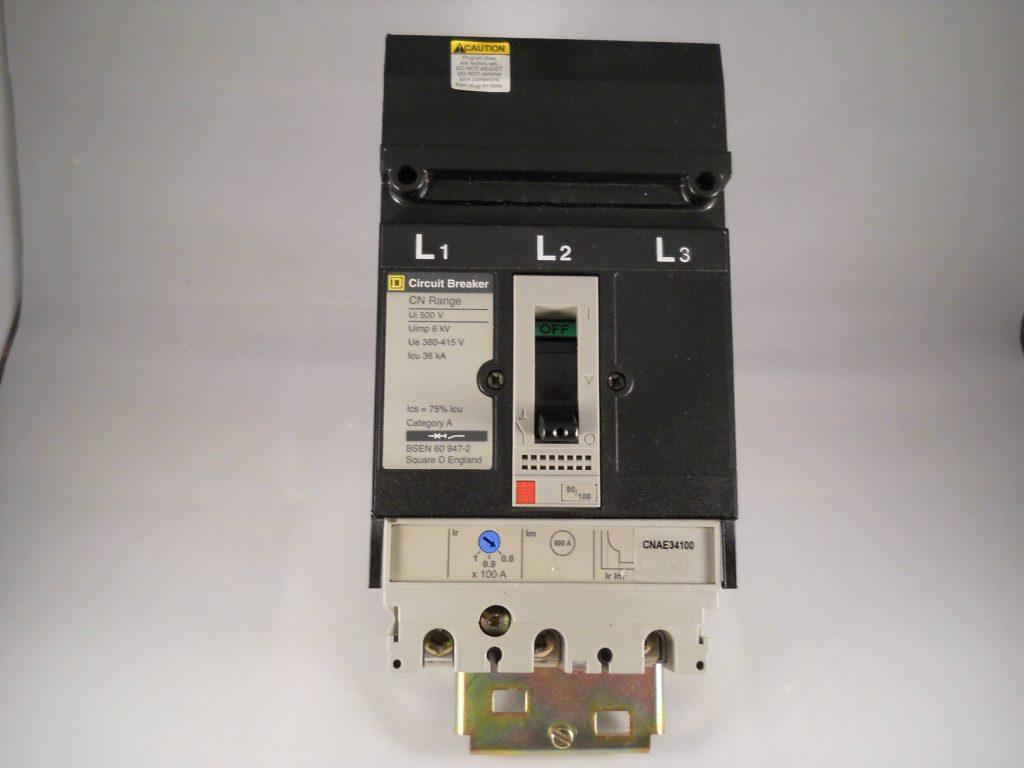 Square D Mccb 100 Amp Triple Pole 3 Phase 100a Cn Range I