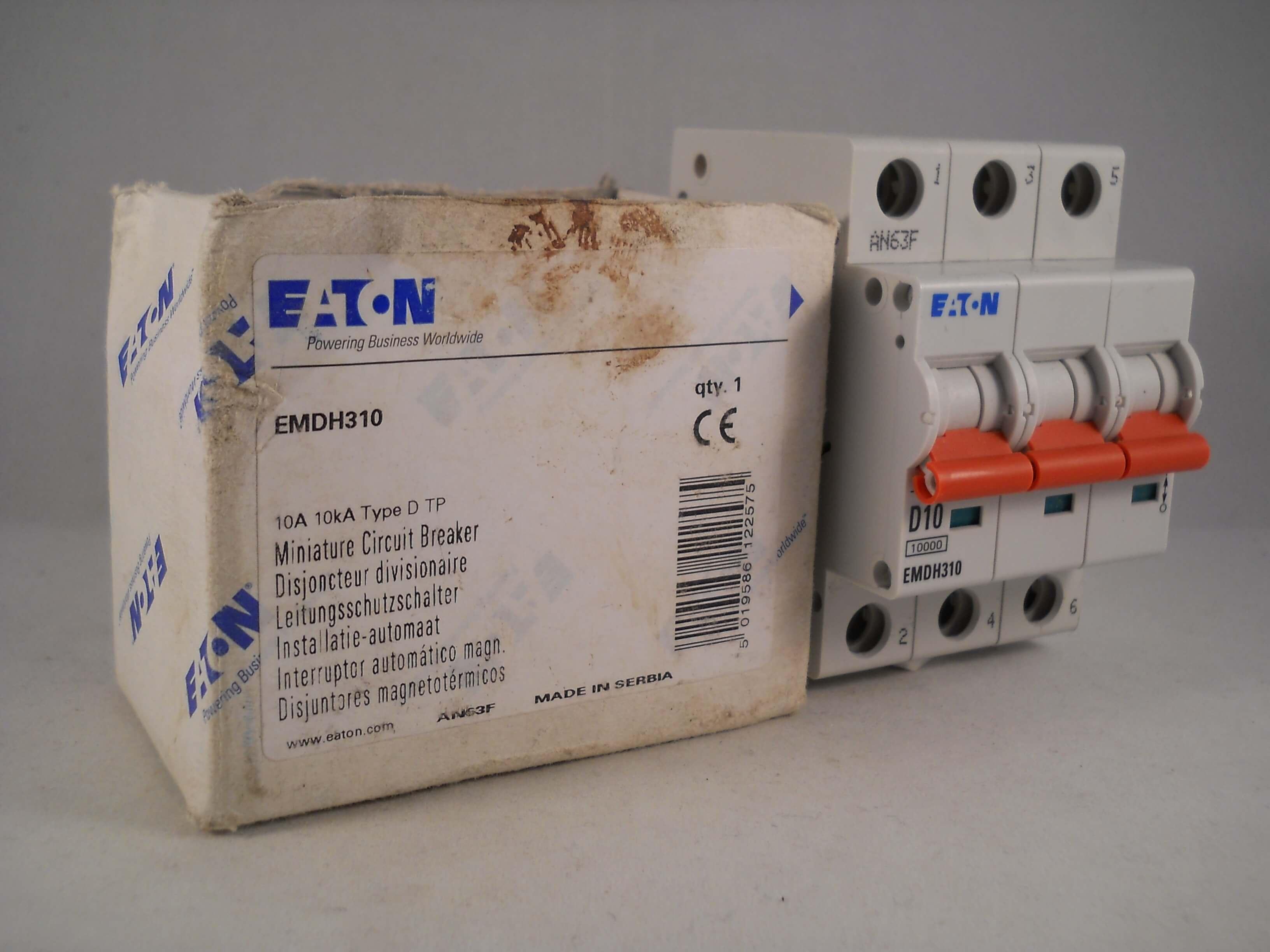 MEM 32 Amp Type 3 M9 MCB Disjoncteur 321MB3