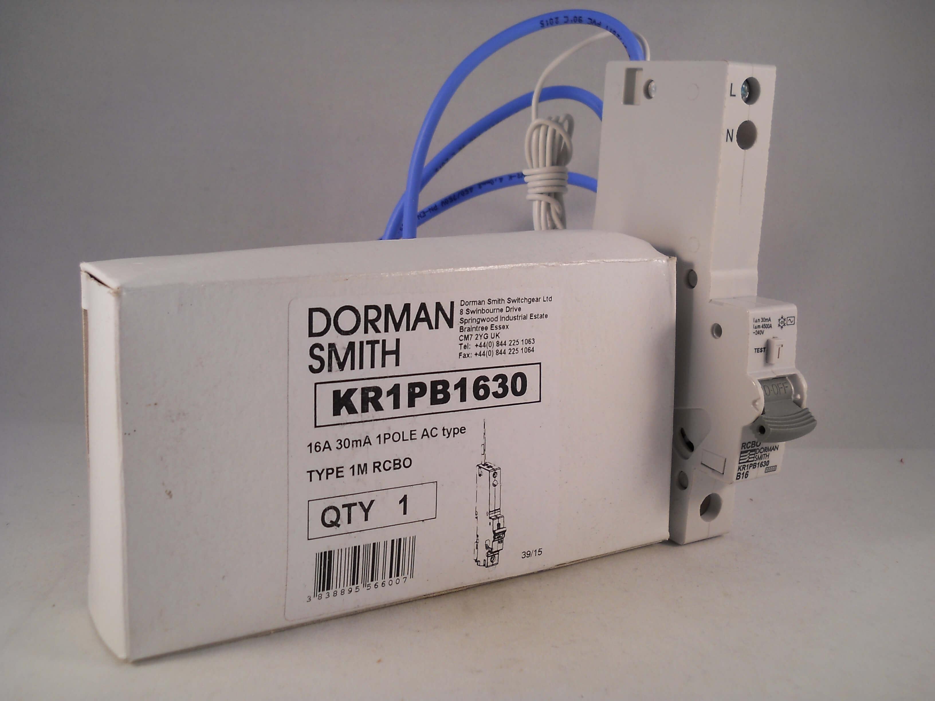 DORMAN SMITH AR2030 20AMP TYPE C RCBO Breaker 20 AMP M6