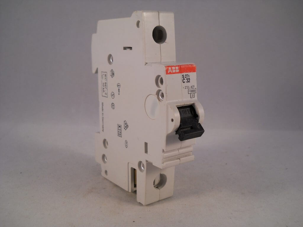 Abb Mcb 32 Amp Type C Single Pole 32a C32 Circuit Breaker