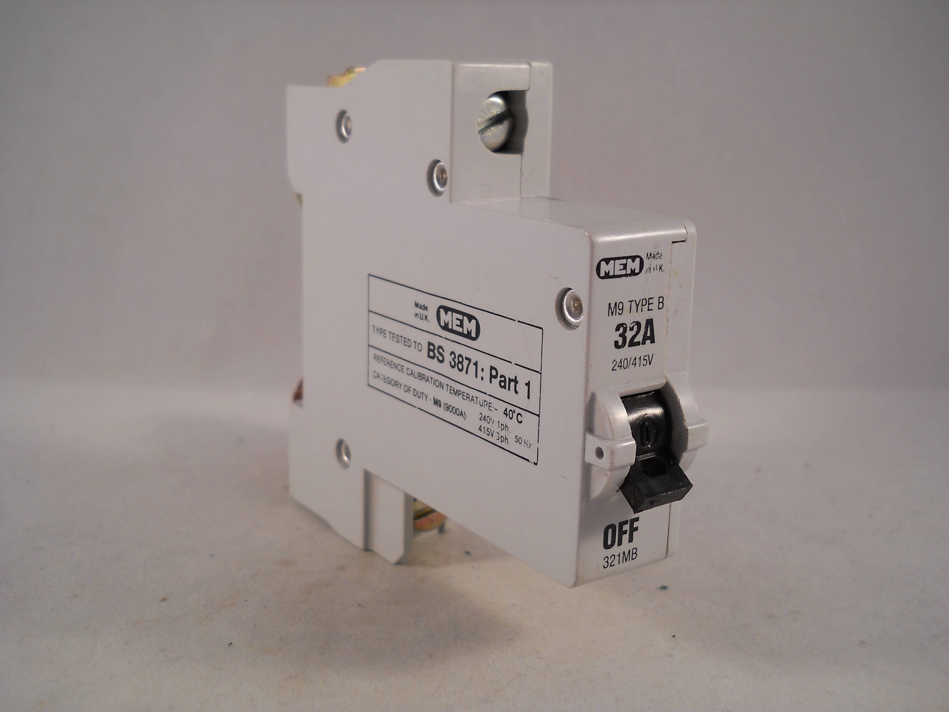 MEM//Delta//Eaton M9 Type B//C//2 Circuit Breakers Single+3 Phase