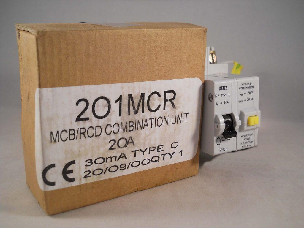 MEM EATON 20 AMP C20 30mA 201CR MCB//RCD COMBINATION CIRCUIT BREAKER